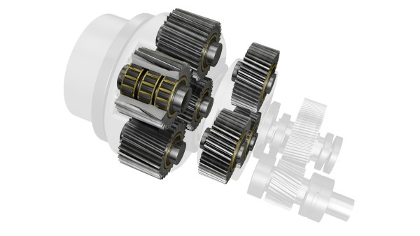 Planet gear bearing supports