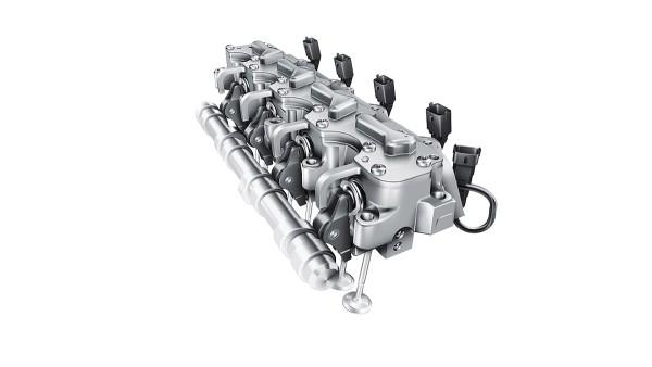 Całkowicie zmienny elektrohydrauliczny system sterowania zaworów UniAir
