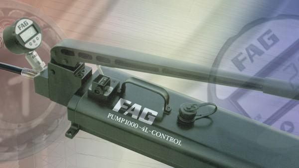 Program komputerowy FAG Mounting Manager to przyjazna dla użytkownika pomoc w zapewnieniu prawidłowego montażu łożysk z otworem stożkowym.