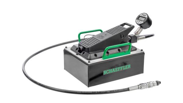 Program komputerowy Schaeffler Mounting Manager to przyjazna dla użytkownika pomoc w zapewnieniu prawidłowego montażu łożysk z otworem stożkowym.