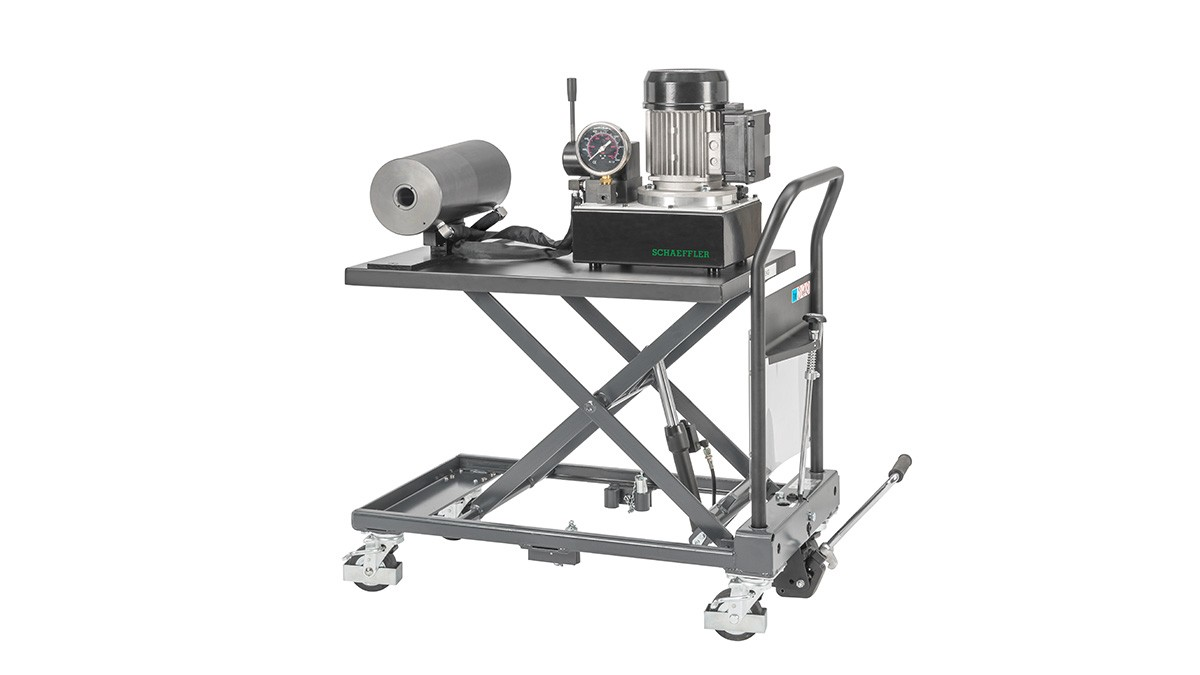 Produkty Schaeffler do utrzymania ruchu: Jezdny przyrząd hydrauliczny