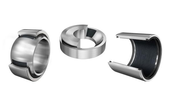 Maintenance-free plain bearings