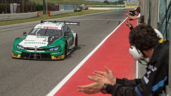 Marco Wittmann wins on Saturday in the Schaeffler BMW M4 DTM and competes in his 100th DTM race at Misano
