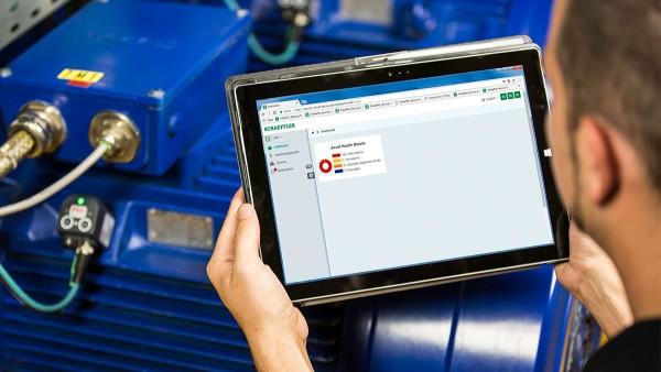 Cloud services for electric motors