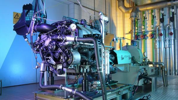 Branżowe rozwiązania firmy Schaeffler w zakresie motocykli i pojazdów specjalnych: Stanowisko testowania silników