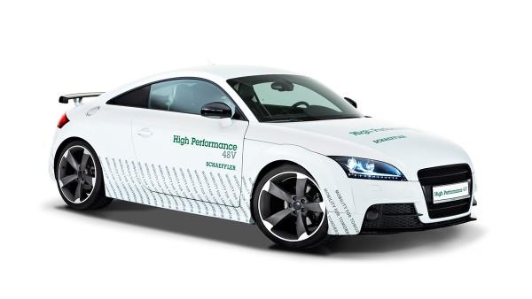 Pojazdy koncepcyjne 48-woltowe o wysokiej sprawności firmy Schaeffler