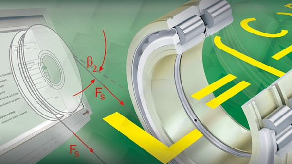 Free of charge calculation module for the reliable calculation of rope sheave bearing supports