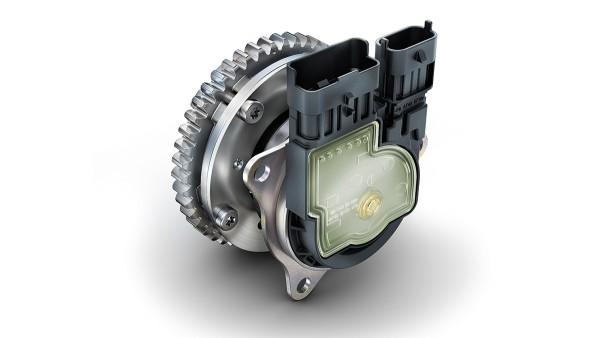 Elektromechaniczny system zmiany pozycji wałka rozrządu